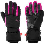 Mănuși femei Relax Hella negru/roz