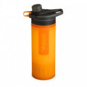 Mechanický filtr Grayl Geopress Purifier portocaliu