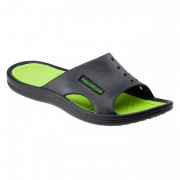Șlapi bărbați Aquawave Nahin negru/verde