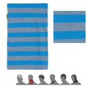Bandană femei Sensor DF Merino Wool gri/prună modrá pruhy