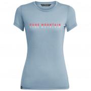 Tricou femei Salewa Pure M. DRI-REL S/S gri/albastru