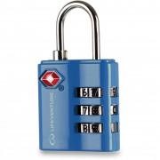 Lacăt Lifeventure TSA Combi Lock albastru Blue