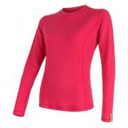 Bluză femei Sensor DF Merino Wool m.l.margenta roz magenta