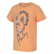 Dětské cool dry triko Husky Zingl K lososová
