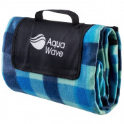 Patură de picnic Aquawave Chequa Blanket albastru