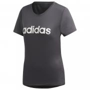 Tricou femei Adidas Design 2 Move Logo gri închis