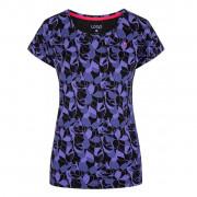Dámské triko Loap Babett negru/albastru