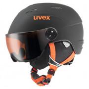 Cască de schi Uvex Junior Visor Pro negru