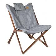 Fotoliu Bo-Camp UO Wooden relax chair Bloomsbury gri