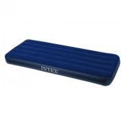 Saltea gonflabilă Intex Cot Size Classic Downy Airbed albastru
