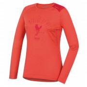 Tricou funcțional femei Husky Merino 100 Sheep (mânecă scurtă) roz