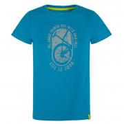 Dětské triko Loap Baakis albastru