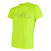 Tricou bărbați Sensor PT Coolmax Fresh Hory GPS galben žlutá reflex