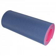 Saltea Yate de spumă cu strat dublu 12mm albastru/roz