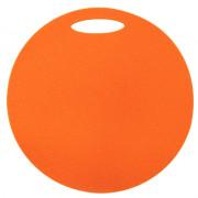 Folie de spumă sub șezut Yate un strat rotund portocaliu
