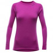 Pantaloni femei Devold Expedition Shirt W roz Fuchsia