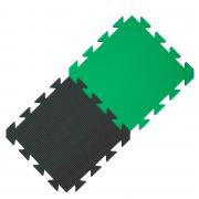 Yate covor din spumă verde/negru