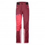 Pantaloni femei Ortovox Westalpen 3L Pants W roșu