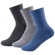 Șosete copii Devold Daily Light Kid Sock 3pk albastru Kid mix