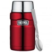 Termos pentru alimente cu o lingură pliabilă și o ceașcă Thermos, 710 ml