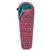 Sac de dormit Loap Galla Flowers roz
