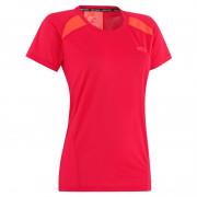 Tricou funcțional femei Kari Traa Tina Tee roșu Peony