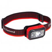 Lanternă frontală Black Diamond Storm 400 roșu