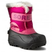 Încălțăminte de iarnă copii Sorel Snow Commander roz