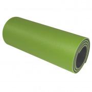 Saltea Yate de spumă cu strat dublu 12mm verde mazăre/verde închis