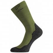 Ponožky Lasting WHI 721 verde închis