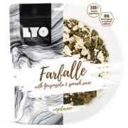Lyo food  Farfalle cu gorgonzola cu spanac 500 g