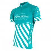 Pánský cyklistický dres Sensor Superdomestic albastru deschis