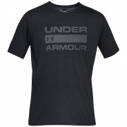 Tricou pentru bărbați Under Armour Team Issue Wordmark SS negru/gri