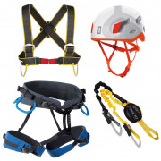 Set Singing Rock Packet Ferrata Exp White