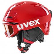 Cască de schi copii Uvex Heyya Set