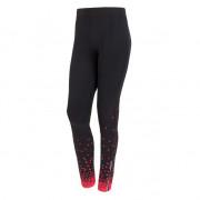 Pantaloni femei Sensor Dots negru/roz černá/růžová
