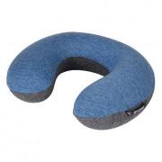 Pernuță Bo-Camp Neck Pillow Memory Foam albastru