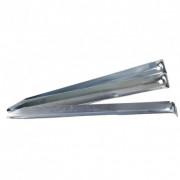 Stanové kolíky Regatta Steel V Pegs argintiu
