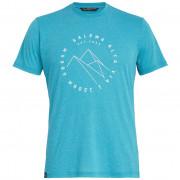 Tricou bărbați Salewa Alta Via Dri-Rel M S/S Tee albastru deschis