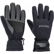 Mănuși femei Marmot Glide Softshell Glove negru