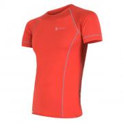 Tricou funcțional bărbați Sensor Coolmax fresh roșu červená