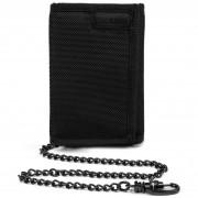 Portofel Pacsafe RFIDsafe Z50 Trifold Wallet negru