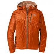 Geacă bărbați Outdoor Research Men's Helium II Jacket portocaliu/gri