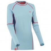 Dámské funkční triko s dlouhým rukávem Kari Traa Svala Ls albastru/roz