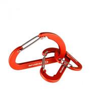 Carabină Lifeventure Karabiners (3 Pack) roșu