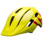 Cască ciclism copii Bell SideTrack II Youth roșu/galben