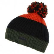 Căciulă de iarnă copii Regatta Davin Hat II verde/portocaliu
