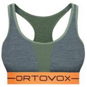 Sutien sportiv Ortovox 185 Rock'n'Wool Sport Top verde