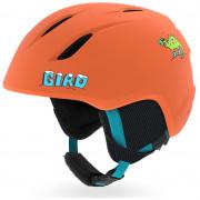 Cască de schi copii Giro Launch portocaliu