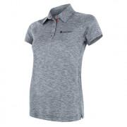 Tricou funcțional femei polo Sensor Motion gri šedá